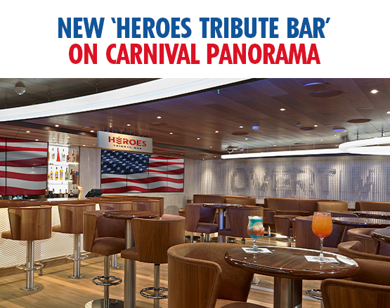 Carnival Cruise Lines Supports the Armed Forces Panorama Travel Cruise Vacation